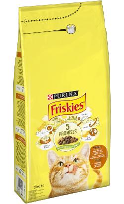 Friskies Gato Adulto | Frango, Peru e Azeitonas