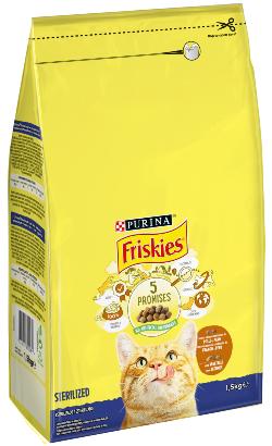Friskies Gato Esterilizados   Peru & Vegetais