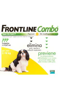 Frontline Combo Cão 2-10 Kg
