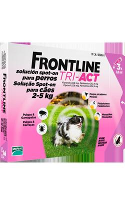 Frontline Dog Tri-Act 2-5 kg