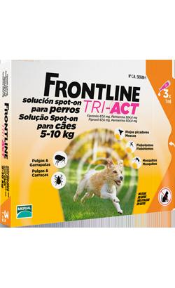 Frontline Dog Tri-Act 5-10 kg