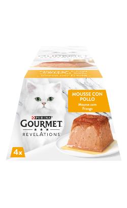 Gourmet Revelations Mousse Frango e uma Cascata de Molho