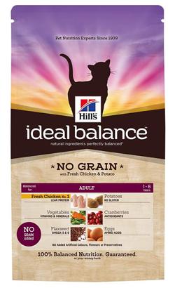 Hills Ideal Balance Feline Adult No Grain with Chicken & Potato