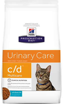 Hills Prescription Diet Feline c/d Multicare with Ocean Fish