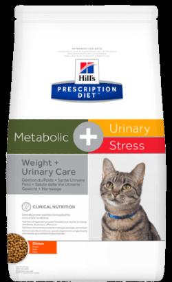 Hills Prescription Diet  Feline c/d Urinary Stress + Metabolic Chicken