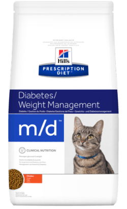 Hills Prescription Diet m/d Feline Chicken