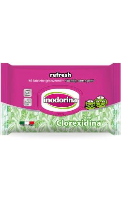Inodorina Toalhete Refresh | Clorexidina