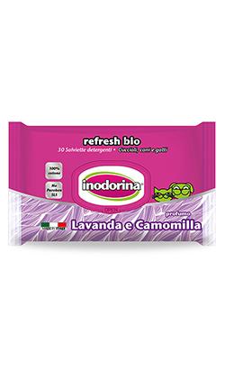 Inodorina Toalhetes Refresh Bio Lavanda & Camomila
