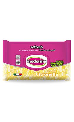 Inodorina Toalhetes Refresh | Citronella