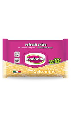 Inodorina Toalhetes Refresh Extra | Jasmim