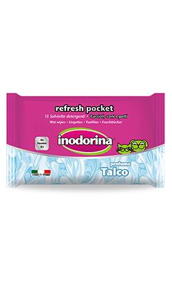 Inodorina Toalhetes Refresh Pocket | Talco