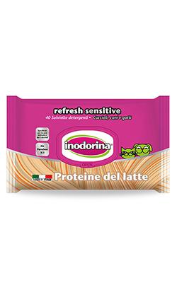 Inodorina Toalhetes Refresh Sensitive | Proteína de Leite