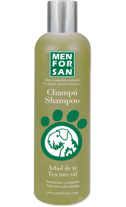Menforsan Champô Natural Anti Comichão com Àrvore-do-chá
