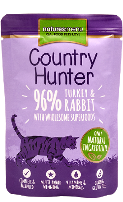 Natures Menu CH Cat Turkey and Rabbit| Wet (Saqueta)