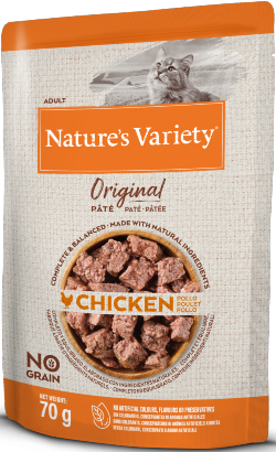 Natures Variety Cat Original No Grain Frango Paté | Wet (Saqueta)