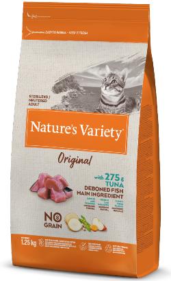 Natures Variety Cat Original No Grain Sterilised Atum