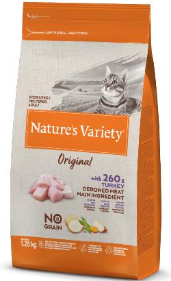 Natures Variety Cat Original No Grain Sterilised Peru