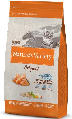 Natures Variety Cat Original Sterilised Salmao
