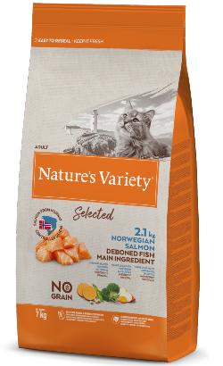 Natures Variety Cat Selected No Grain Salmao da Noruega