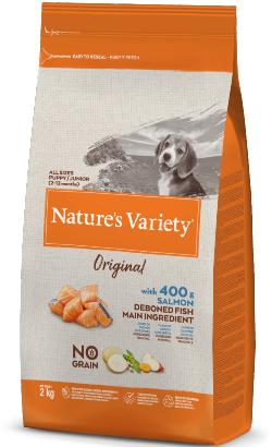 Natures Variety Dog Original No Grain Junior Salmão