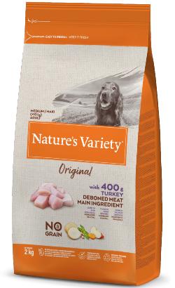 Natures Variety Dog Original No Grain Medium Maxi Adulto Peru