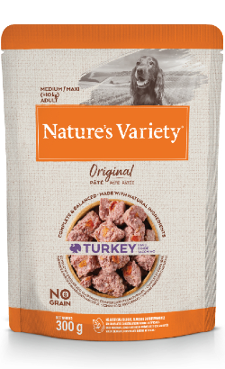 Natures Variety Dog Original No Grain Medium Maxi Peru Paté | Wet (Saqueta)