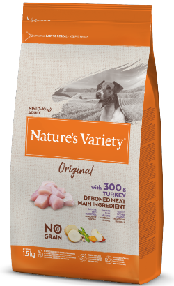 Natures Variety Dog Original No Grain Mini Adulto Peru