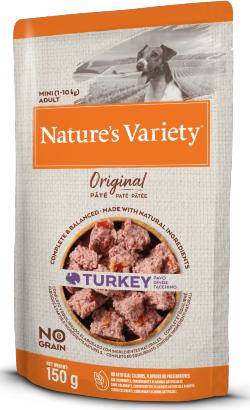 Natures Variety Dog Original No Grain Mini Peru Paté   Wet (Saqueta)