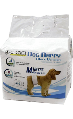 Nayeco Fraldas Nappy para Cães Macho
