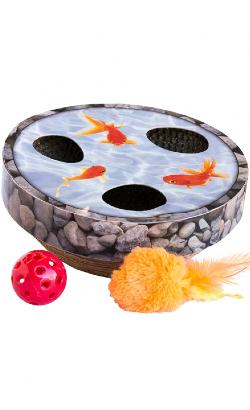 Petstages Hide & Seek Wobble Pond