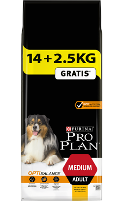 Pro Plan Dog Medium Adult - Bónus