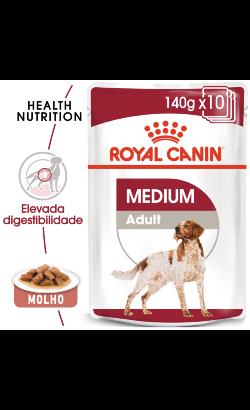 Royal Canin Dog Medium Adult   Wet (Saqueta)