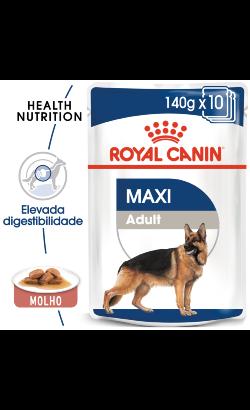Royal Canin Maxi Adult   Wet (Saqueta)
