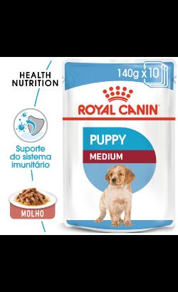 Royal Canin Medium Puppy | Wet (Saqueta)