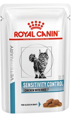 Royal Canin Sensitivity Control Feline with Chicken & Rice in Gravy | Wet (Saqueta)