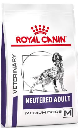Royal Canin Vet Health Nutrition Canine Neutered Medium Adult