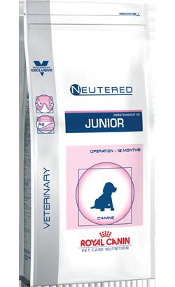 Royal Canin Vet Care Nutrition Neutered Junior