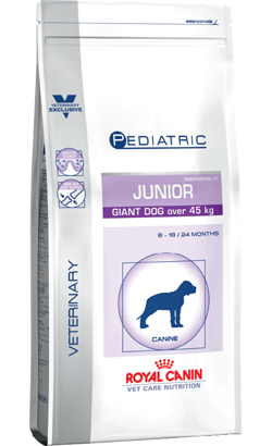 Royal Canin Vet Care Nutrition Pediatric Junior Giant Dog