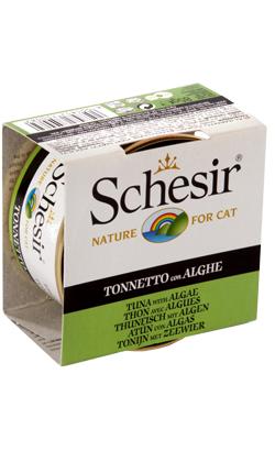 Schesir Cat Atum com Algas em Gelatina | Wet (Lata)