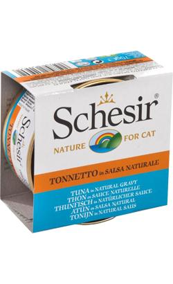 Schesir Cat Atum em Molho Natural | Wet (Lata)