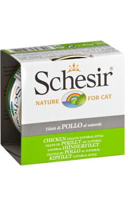 Schesir Cat Filete de Frango ao Natural | Wet (Lata)