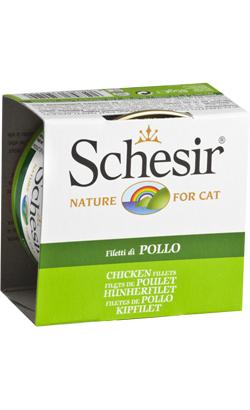 Schesir Cat Filete de Frango em Gelatina | Wet (Lata)