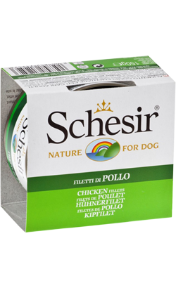 Schesir Dog Filete de Frango em Gelatina | Wet (Lata)