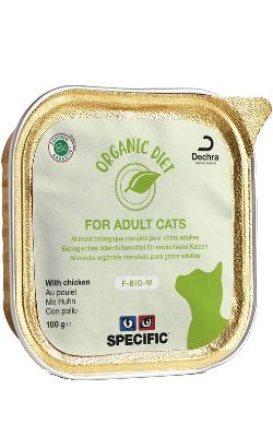 Specific Cat F-BIO-W Organic Chicken | Wet (Terrina)