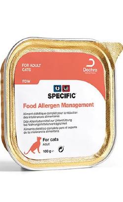 Specific Cat FDW Food Allergy Management   Wet (Terrina)