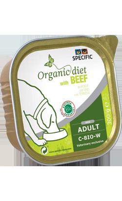 Specific Dog C-BIO-W Organic Beef | Wet (Terrina)