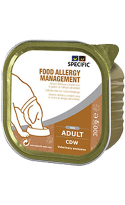 Specific Dog CDW Food Allergy Management | Wet (Terrina)