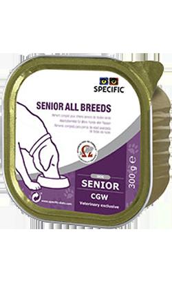 Specific Dog CGW Senior All Breeds   Wet (Terrina)