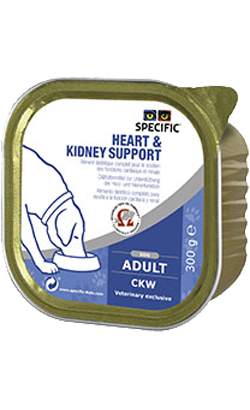 Specific Dog CKW Heart & Kidney Support | Wet (Terrina)