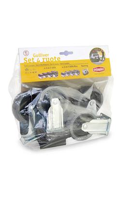 Stefanplast Gulliver Kit 4 Rodas